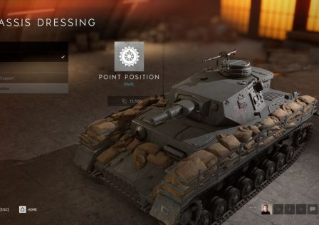 Battlefield V tank customization 1