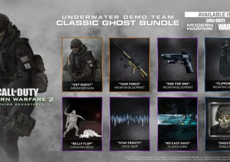 Call of Duty Modern Warfare 2 campaign remastered Demo Team Classic Ghost Bundle