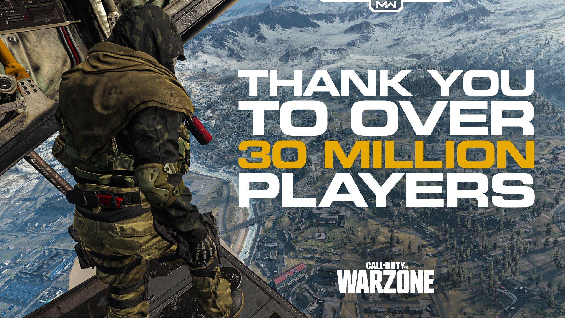 Call of Duty Modern Warfare Warzone Battle Royale
